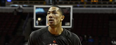 Derrick Rose shows that he's back