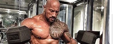 Why 'The Rock' has to be this big