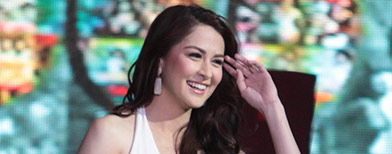 What completes Marian Rivera's day?