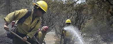 Source of US wildfire: faulty equipment