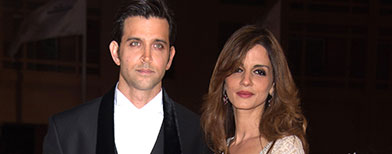 Hrithik and Suzanne Roshan, Photo: Getty Images
