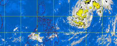 When will typhoon 'Vinta' hit land?