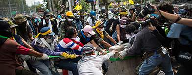 Thai opposition protesters prepare for 'final showdown' (Getty Images)