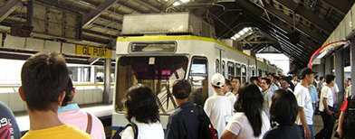 The DOTC is starting a project that will speed up ticketing in the three train lines in Metro Manila.