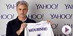 Yahoo signs with Jose Mourinho