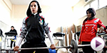 Afghan women hit the gym