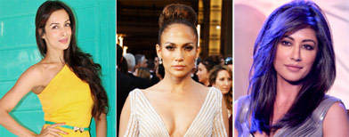 The hot mom club: JLo and Malaika lead