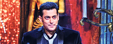 Does Salman Khan look nervous?