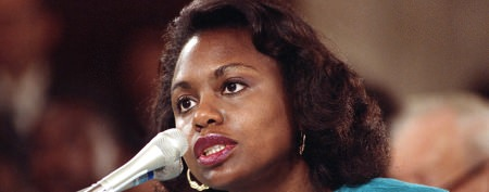 Anita Hill back in the public eye
