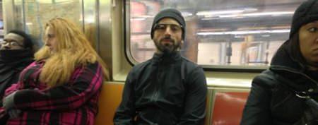 Google billionaire seen riding the subway