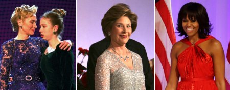 First lady's gown breaks 100-year trend