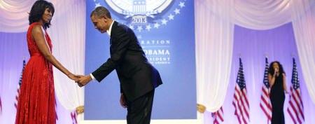 Photos: Obamas dance the night away