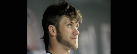 Baseball phenom ditches trademark haircut
