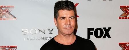 Simon Cowell rocks odd eyewear choice