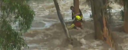 Teen's dramatic rescue caught on video