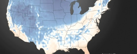How Arctic air blanketed the country