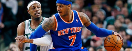 The Knicks' Carmelo Anthony grows up