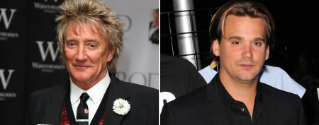 Rod Stewart's son pulls a 'Maggie May'