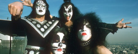 Why the guys in KISS wear makeup