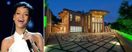 Lavish homes of pop music's biggest stars