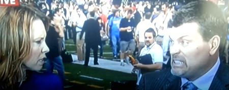 Analysts caught dissing Tebow on live TV