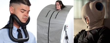 Bizarre gadgets to make traveling easier