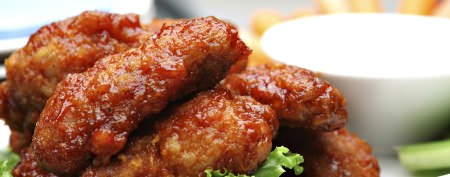 Crispy chicken wings without the mess
