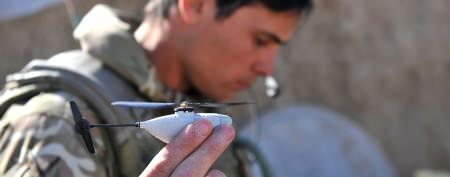 New microdrones enter Afghan battlefield