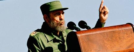 Fidel Castro reappears in public
