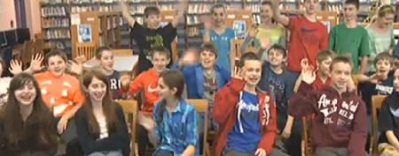 7th-grade class boasts 16 sets of twins