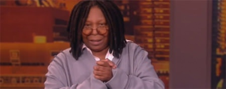 Whoopi's daughter joins her on 'The View'