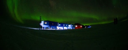 Research station challenges crushing cold