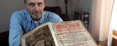 300-year-old heirloom found far from home