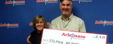 Couple wins lottery twice — in one weekend