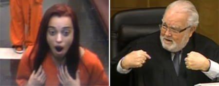 Judge teaches lesson to disrespectful teen
