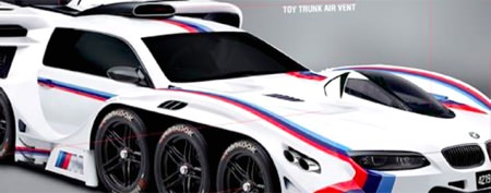 A 4-year-old's dream car imagined by BMW