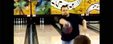 Bowler's weird move draws a baffled crowd
