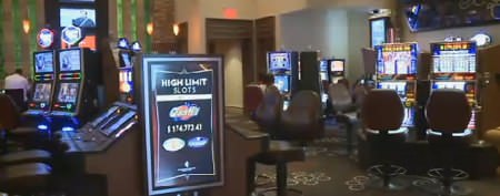 Casino worker's jackpot find in restroom
