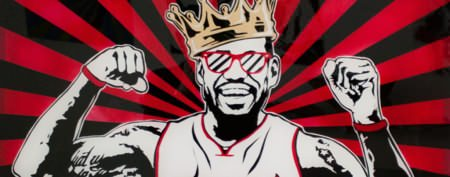 NBA stars create craze for man's artwork