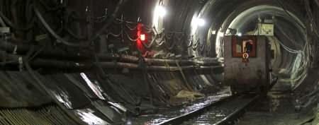 A rare peek at NYC's underground rails