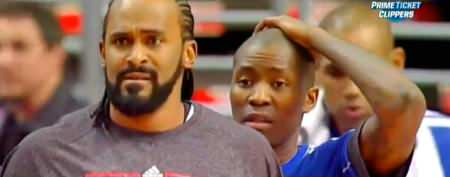 NBA players stunned by amazing play