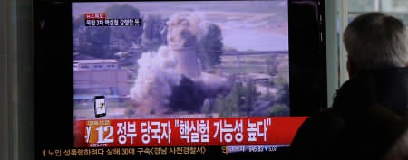 North Korea conducts third nuke test (AP Photo/Lee Jin-man)