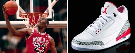 The shoes Michael Jordan made famous