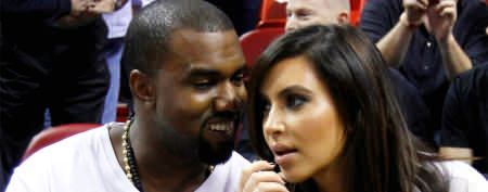 Kim, Kanye in airport security flap