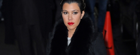 Kourtney Kardashian's violent outburst