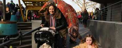 Dinosaurs 'roam' the streets of London