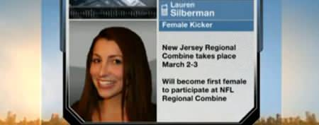Woman to make history with NFL tryout