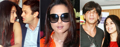 Candid moments from Preity's life