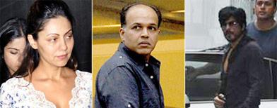 SRK drops in on Hrithik