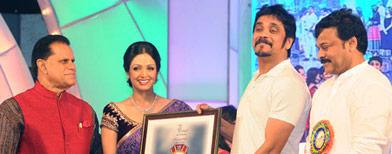 Sridevi, Zeenat and Rani honoured